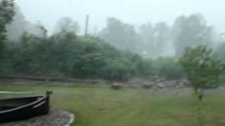 Unwetter Sturm Gewitter Blitze Natur Tornado Regen Hagel