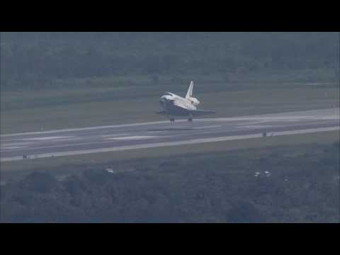 STS - 127 Landing Replay - VAB Roof (TV-5) - HD