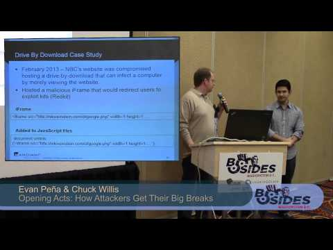 BSides DC 2014 - Opening Acts: How Attackers Get Their Big Breaks
