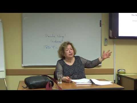 """Edna Nahshon """"From Dybbuk To Ghetto: Major Plays From The Jewish Dramatic Canon"""" (Lecture 4)"""