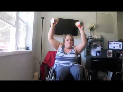 Give Me 20 Minutes and I'll Show You How To Workout From Your Wheelchair. Fitness Friday #2