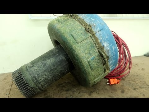 Fish Pond Air Pump Restoration // Agricultural Machinery Recovery | Electrician Skills