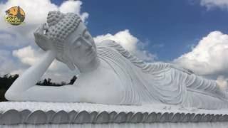 Patung Budha Tidur Vihara Dharma Giri Pupuan Tabanan Bali