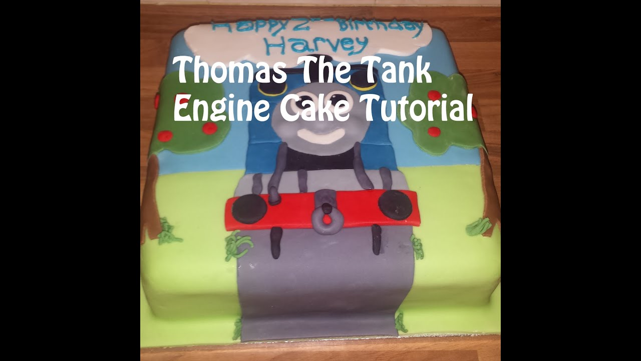 How To Make A Thomas The Tank Engine Cake Tutorial Cakes For Kids