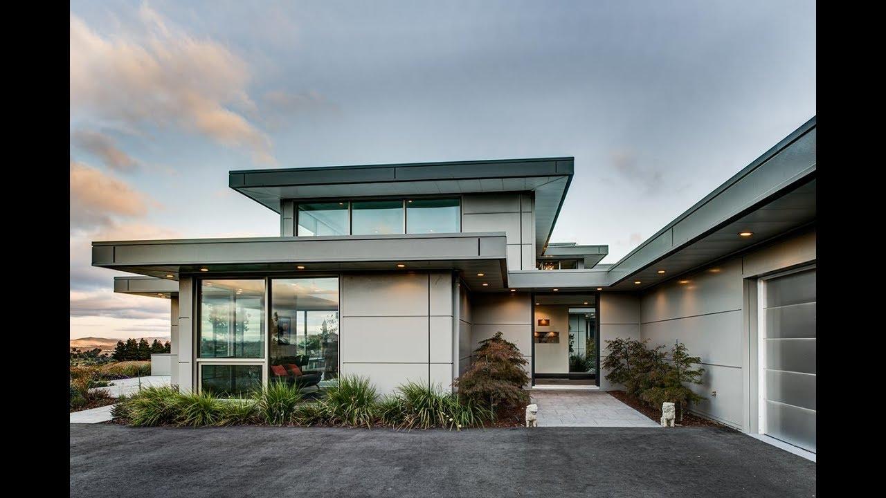 Ecosteel buildings luxury modern home youtube for Luxury barn builders