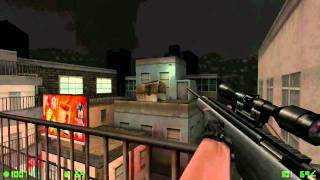 Counter-Strike Condition Zero Deleted Scenes Walkthrough Run!