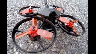 PUNCH CITY BRUSHLESS WHOOP Makerfire Armor 90 5.8G FPV Racing Drone F3 OSD FrskyXM Receiver BNF