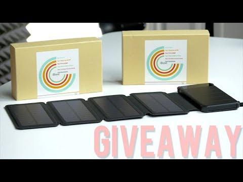 Check out This Solar Power Bank! - 🎅12 Days of Giveaways! (1 of 12) (closed)