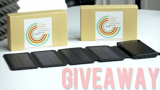 Check out This Solar Power Bank! - 🎅12 Days of Giveaways! (1 of 12)