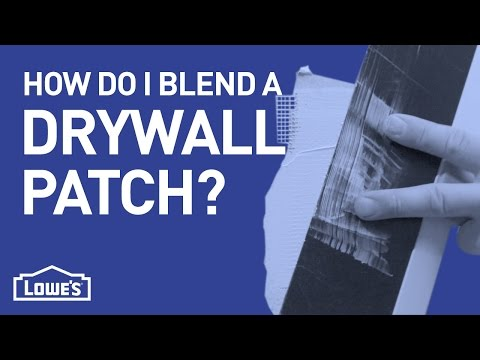 How Do I Blend A Drywall Patch? | DIY Basics
