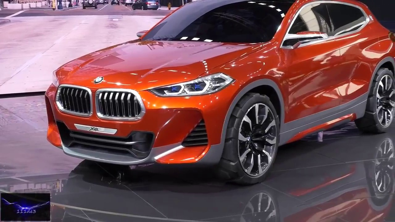 bmw x2 concept car 2017 new youtube. Black Bedroom Furniture Sets. Home Design Ideas