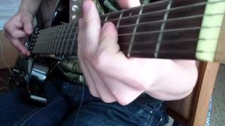 Painkiller OST   Atrium Complex And Military Base Fight Guitar Cover