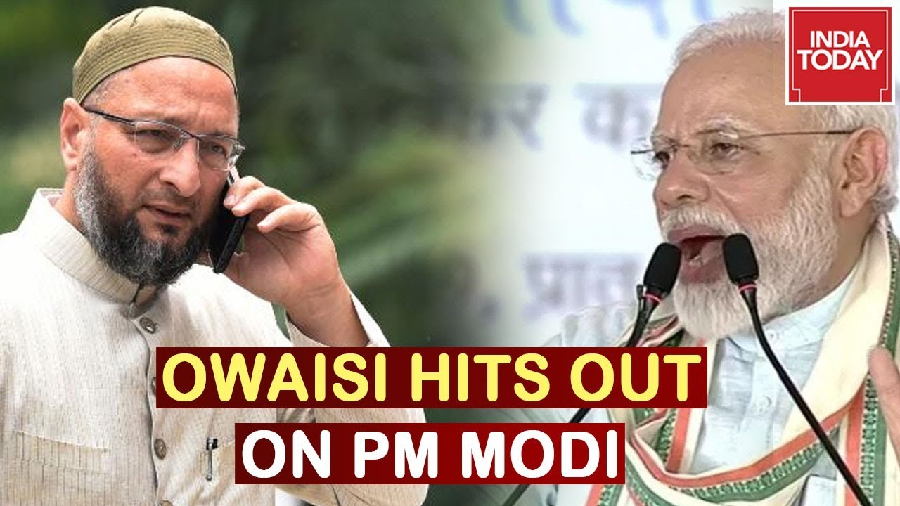 AIMIM Chief Owaisi Hits Out At PM Modi's Speech On Cow Scheme