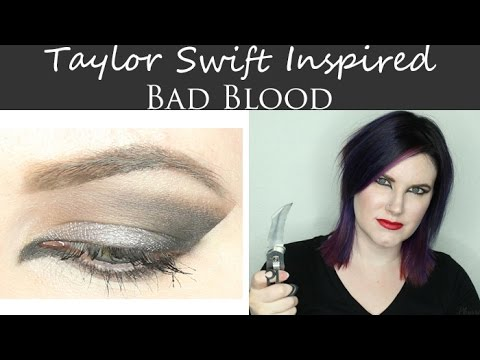 Taylor Swift Bad Blood Makeup Tutorial - Great for Hooded Eyes - Cruelty Free