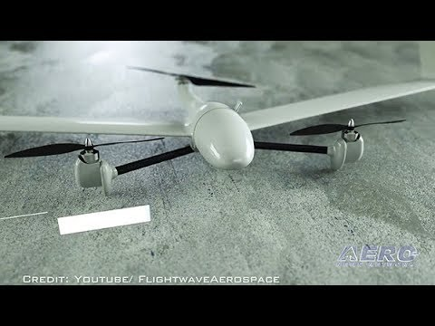 Airborne-Unmanned 08.22.17: Flightwave, Robotic Skies, Sky Hopper Cargo Drone