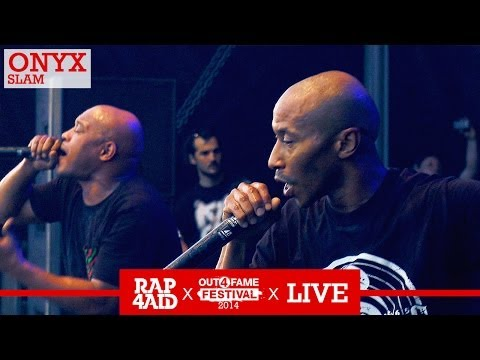 ONYX - SLAM - LIVE at the Out4Fame Festival 2014 - RAP4AID