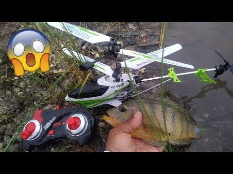 rc-helicopter-fishing!!!-monster-mike