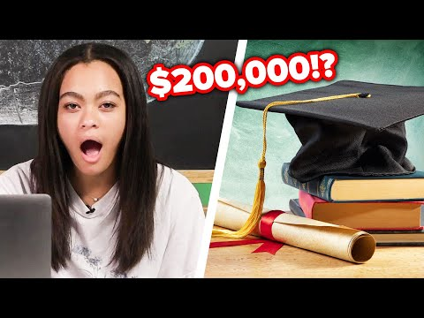 Teens Guess The Price Of College Around The World
