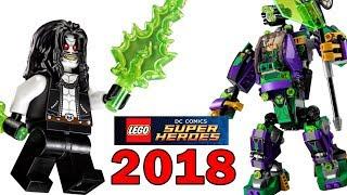 наборы LEGO 2018 новинки DC Comics Super Heroes Обзор