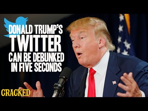 Donald Trump's Twitter Can Be Debunked In Five Seconds