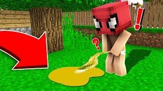 ÖRÜMCEK BEBEK ALTINA ÇİŞ YAPTI! 😱 - Minecraft