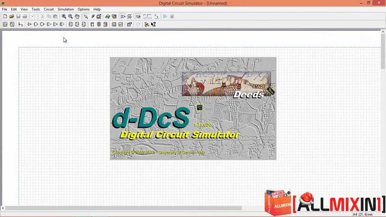 counter hex simulation deeds (digital circuit simulator) tutorialElectronic Circuit Simulation Software Youtube #16