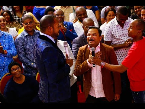 Perfume maker and His Pastor all the way from India  encountered Pst Alph LUKAU