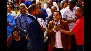 Perfume maker and His Pastor all the way from India 🇮🇳 encountered Pst Alph LUKAU