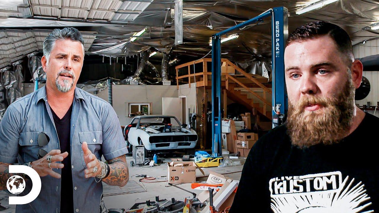 Richard sugere o fechamento definitivo de oficina | Dupla do Barulho ao Resgate | Discovery Brasil