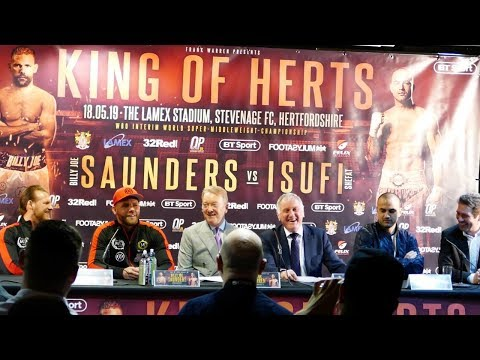 NEW DAWN: Billy Joe Saunders COMEBACK FULL PRESS CONFERENCE