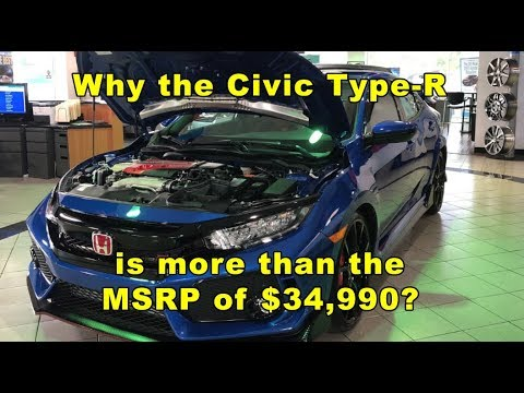 Why The Honda Civic Type-R Is More Than It's MSRP