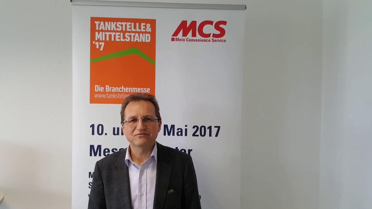 MCS - Shoplieferant mit Gesicht: Rainer Utz lädt zur Messe ...