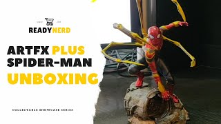 Artfx Plus Iron Spider-Man Unboxing Unboxing