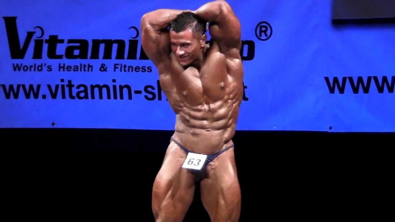 Murat Gonul - Competitor No 63 - Class 3 - Final - NABBA