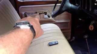 1979 Ford F-150 Walkaround.  400 engine and c6 transmission.