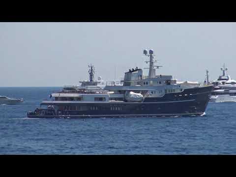 Ice class yacht Legend, 77 m