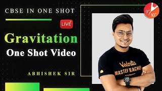 Gravitation In One Shot | CBSE Class 9 Physics | Science Chapter 10 NCERT Solution | Vedantu