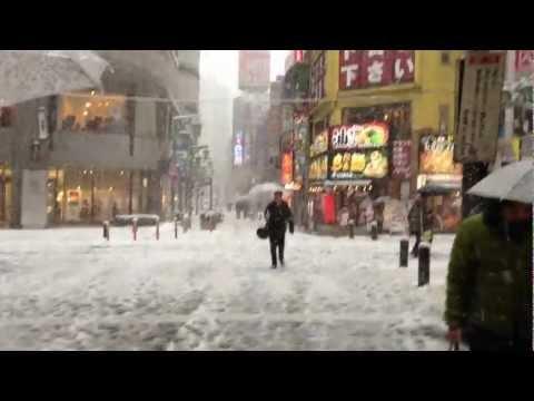 Heavy Snow in Tokyo, January 14, 2013 ‐Vol2