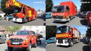 [45 Véhicules] SDIS 62 Défilé Congrès Sapeurs-Pompiers Pas de Calais 2019