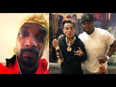 Snoop Dogg G Checks 50 Cent Over TEKASHI69