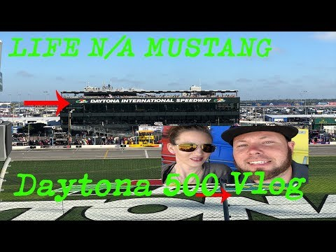 2018 Daytona 500 Vlog A Great American Race