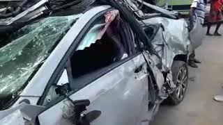 Skoda vrs accident