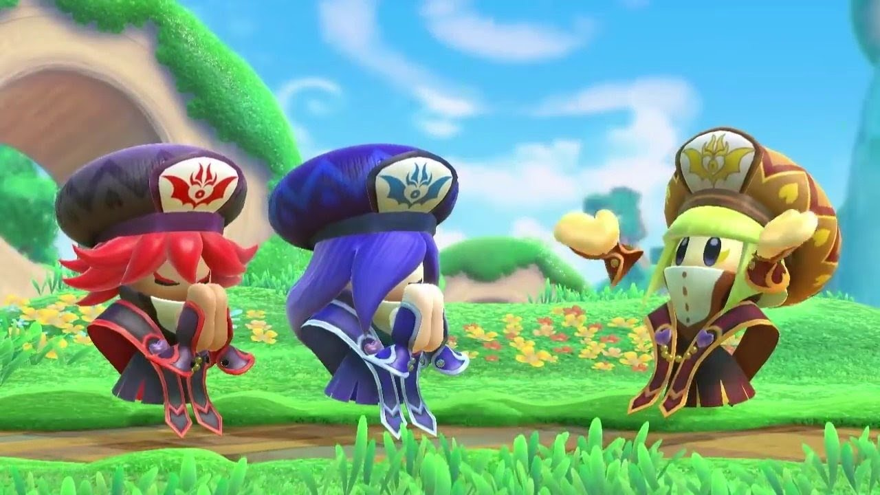 Kirby Star Allies Wave 3 Update The Three Mage Sisters Work