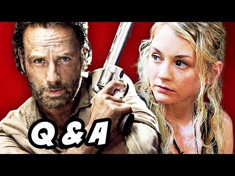 The Walking Dead Season 4 Q&A - Terminus Hunters Edition