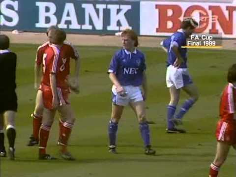 Final FA Cup 1989 - Liverpool - Everton