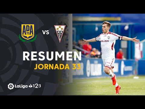 Resumen de AD Alcorcón vs Albacete BP (0-1)