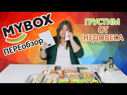 Переобзор доставки еды MyBox, недовесы и новинки