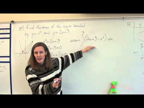 Price AP Calculus AB - 7-1 - Area between curves