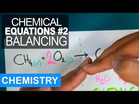 Chemical Equations 2 - Balancing Them