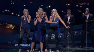 Maria - Hold On Be Strong (Norway - Semi-Final (1) - Eurovision Song Contest 2008) HD 720p